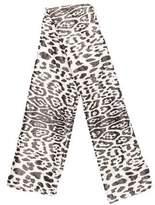 Haider Ackermann Metallic Leopard Print scarf