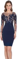 Terani Evening - Spectacular Illusion Mini Dress 1611C0001