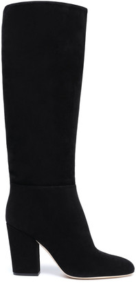 Sergio Rossi Suede Knee Boots