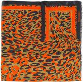 DSQUARED2 leopard print scarf - men - Modal - One Size
