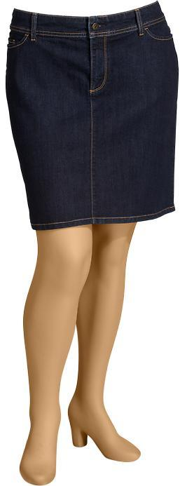 Old Navy Women's Plus Denim Pencil Skirts