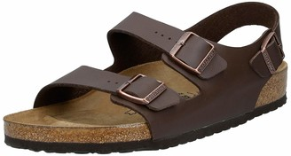 Birkenstock Milano Unisex Adults' Sandals Brown (Dunkelbraun) 7.5 UK Regular (41 EU)