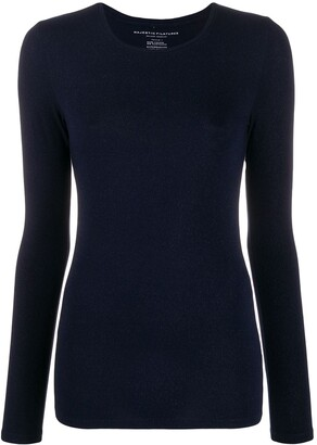 Majestic Filatures Fitted Silhouette Jumper