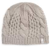 The North Face Girl's Minna Cable Knit Beanie - Metallic