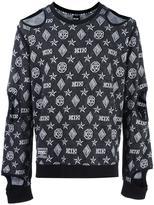 Kokon To Zai Inside Out cut-off sweatshirt - unisex - Cotton - S