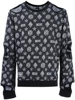 Kokon To Zai Inside Out cut-off sweatshirt