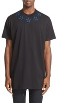 Givenchy Star Appliqué Short Sleeve T-Shirt
