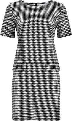 Wallis PETITE Monochrome Dogtooth Shift Dress