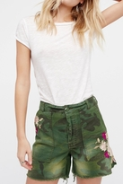 Free People Embroidered Scout Short