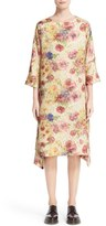 Comme des Garcons Floral Jacquard Shift Dress