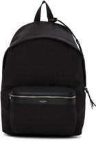Saint Laurent Black City Backpack