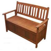 Whitehaven Outdoor Timber Storage Bench