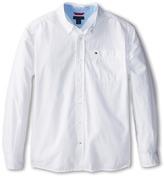 Tommy Hilfiger Classic L/S Woven Shirt (Big Kids)