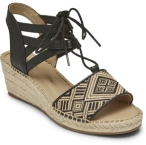 Rockport Women's Marah Lace-Up Sandals Women's Shoes