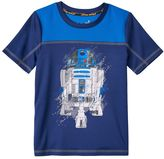 Star Wars a Collection for Kohl's Boys 4-7x R2-D2 Glow-In-The-Dark Tee