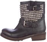 Ash Titan Moto Ankle Boots