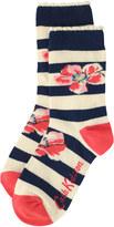 Cath Kidston Anemone Stripe Day Socks