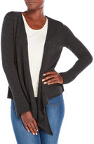 ply cashmere Draped Cashmere Open Cardigan