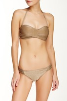 Vitamin A Antibes Ruched Full Coverage Hipster Bottom