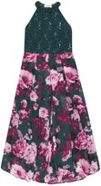 Speechless Girls 7-16 Sequin Lace Floral Maxi Dress