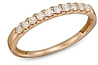 Bloomingdale's Diamond Band Ring in 14K Rose Gold, .25 ct. t.w.