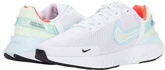 Nike Legend React 3 (White/Black/Glacier Ice/Barely Volt) Women's Running Shoes