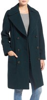 MiH Jeans 'Richards' Double Breasted Wool Blend Coat