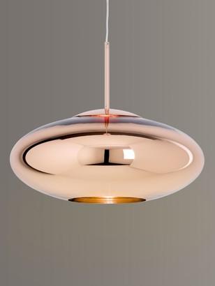 Tom Dixon Copper Wide Pendant Ceiling Light, 50cm