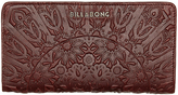 Billabong Hidden Leather Wallet Brown