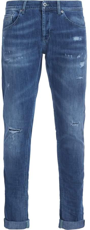 Dondup Ritchie Light-blue Washed Denim Jeans