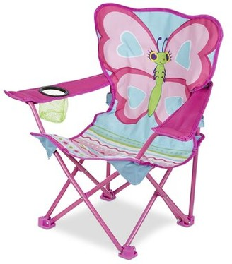 Melissa & Doug Cutie Pie Butterfly Chair with Cup Holder