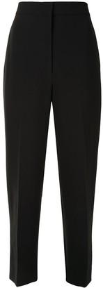 Karen Walker Lawn straight-leg cropped trousers