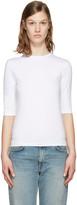 Acne Studios White Idra T-shirt