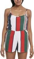 Urban Classics Women's Ladies Patter Short Spaghetti Jumpsuit