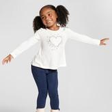 Toddler Girls' Jeans Sparkle Wash Knit Denim - Cat and Jack