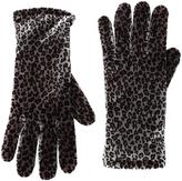 Cejon Gray Cheetah Velvet Glove