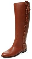 Valentino Garavani Fringe Leather Boot