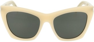 Saint Laurent Eyewear Kate Cat Eye Sunglasses