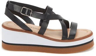 Lucky Brand Ticery Platform Wedge Sandal