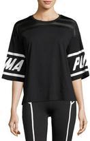 Puma Burnout Athletic T-Shirt, Black