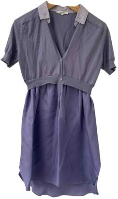 Carven Purple Silk Dresses