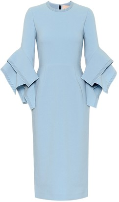 Roksanda Ronda bonded-crepe dress