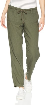Dollhouse Women's Army Green Linen 5