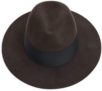 Arket Felted Wool Fedora Hat