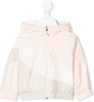 Moncler Enfant Colour Block Hooded Jacket