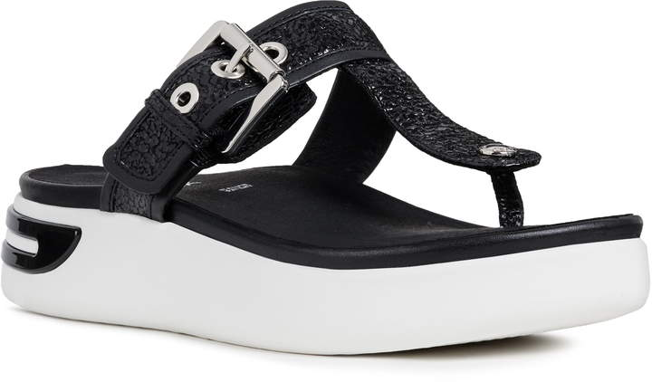 4a67138234579 Black Flip Flops Heels - ShopStyle