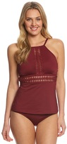 Kenneth Cole Weave Your Own Way High Neck Tankini Top 8151094