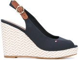 Tommy Hilfiger wedged sandals - women - Cotton/rubber - 36