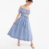 J.Crew Tie-waist skirt in Liberty® Delilah Cavendish Tana Lawn floral