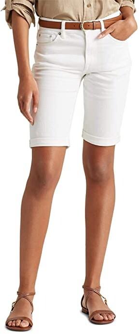 Thumbnail for your product : Lauren Ralph Lauren Petite Stretch Cotton Blend Shorts